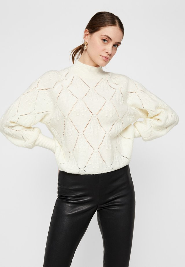 YASSOMA LS KNIT - ICON - Jumper - eggnog