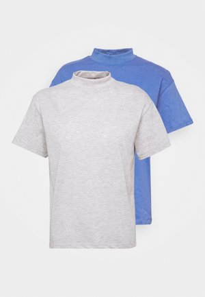 2 PACK - Basic T-shirt - gray