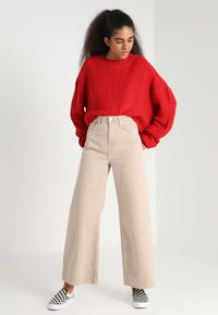 Urban Classics - LADIES WIDE OVERSIZE  - Jumper - firered - 1