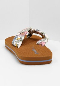 O'Neill - DITSY SUN - T-bar sandals - white all over print - 5
