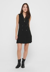 ONLY - Shirt dress - black - 1