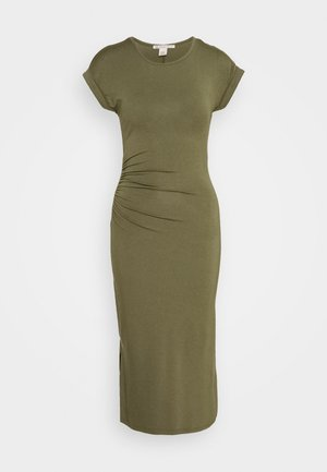Shift dress - olive