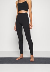 ARKET - Leggings - black dark - 0