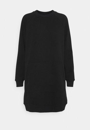 NMLUPA KANGAROO DRESS - Day dress - black