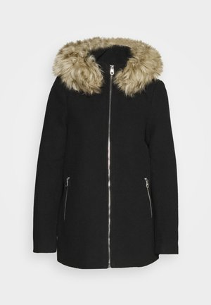 VMCOLLARYORK COLLAR JACKET - Mantel - black
