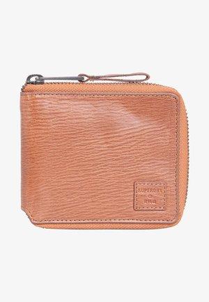 Wallet - dark tan