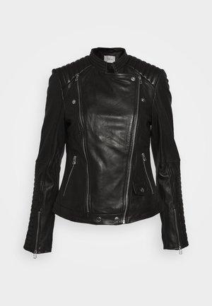 ELECTRA JACKET - Veste en cuir - black