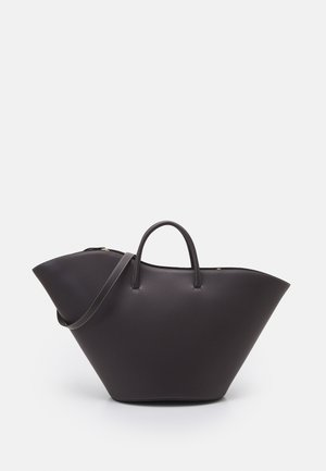 OPEN TULIP TOTE LARGE - Tote bag - chestnut