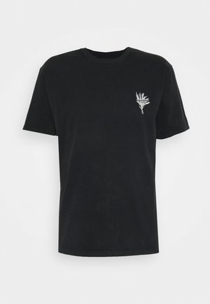 WALK ON THE WILD SIDE - Print T-shirt - black washed