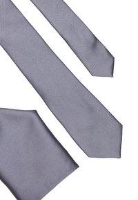 Burton Menswear London - HAZEL SET - Pocket square - grey - 4