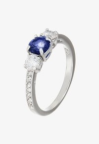 Swarovski - ATTRACT TRILOGY - Pierścionek - blue - 3