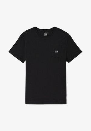 STACKED - Basic T-shirt - black