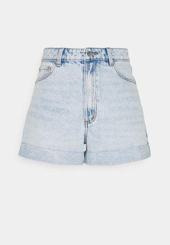AMY  - Shorts di jeans - blue denim