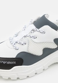 Emporio Armani - Trainers - white/dark blue - 5