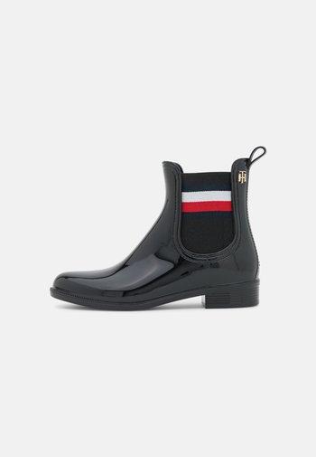 CORPORATE RAINBOOT - Gummistøvler - black