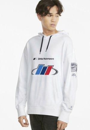 BMW M MOTORSPORT STREET - Luvtröja - puma white
