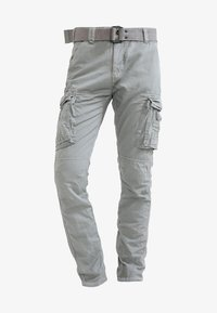Schott - TRRANGER - Cargo trousers - grey - 5