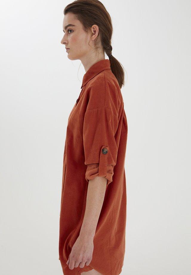 BXIGIS  - Shirt dress - arabian spice