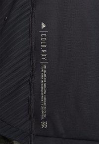 adidas Performance - ATHLETICS TECH  - Felpa con zip - black - 7