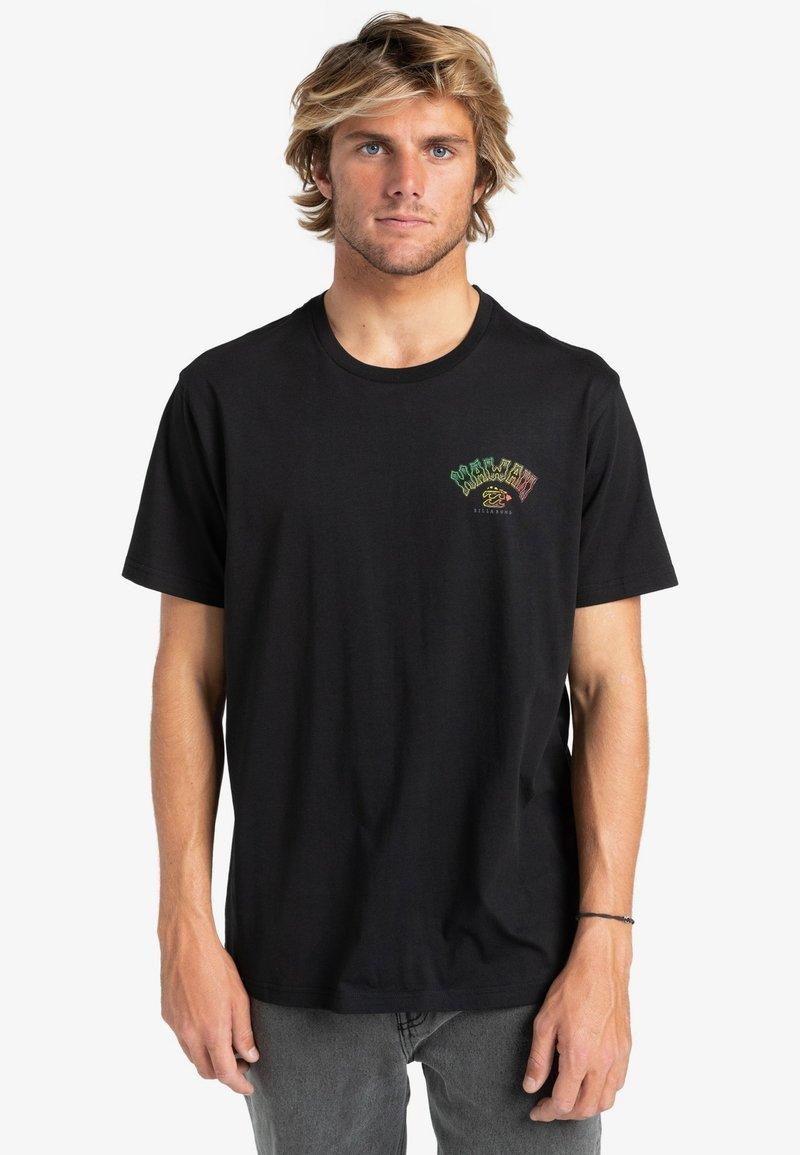 Billabong - Print T-shirt - black