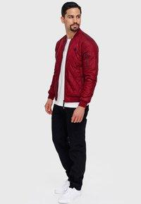 INDICODE JEANS - NOVAK - Light jacket - bordeaux - 1