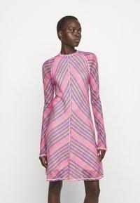 M Missoni - ABITO - Day dress - pink - 0