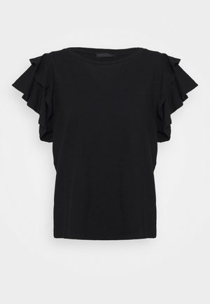 JISANE - Print T-shirt - black
