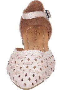 Piazza - Ankle strap ballet pumps - rosa - 4