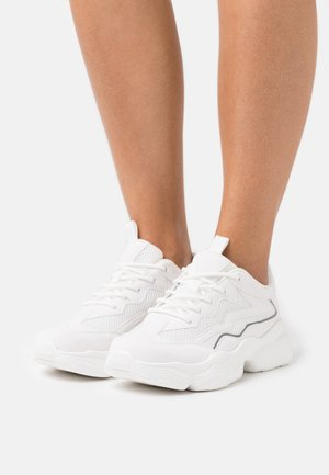 REFLECTIVE DETAILED TRAINERS - Trainers - snow white