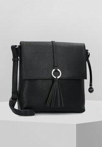 L. CREDI - BELANA - Across body bag - black - 0