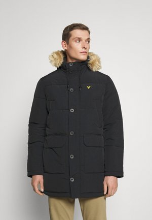 HEAVYWEIGHT LONGLINE PUFFER JACKET - Winter coat - jet black
