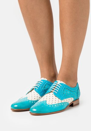SALLY 66 - Veterschoenen - abyss/white/turquoise/rich tan/natural