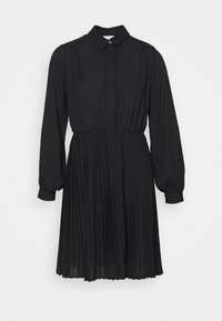 Closet - PLEATED DRESS - Shirt dress - black - 4
