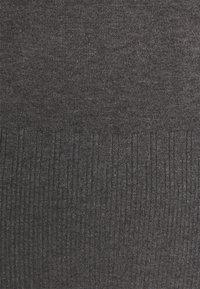 Dorothy Perkins Petite - PEARL CUFF ROLL NECK JUMPER - Svetr - charcoal - 2