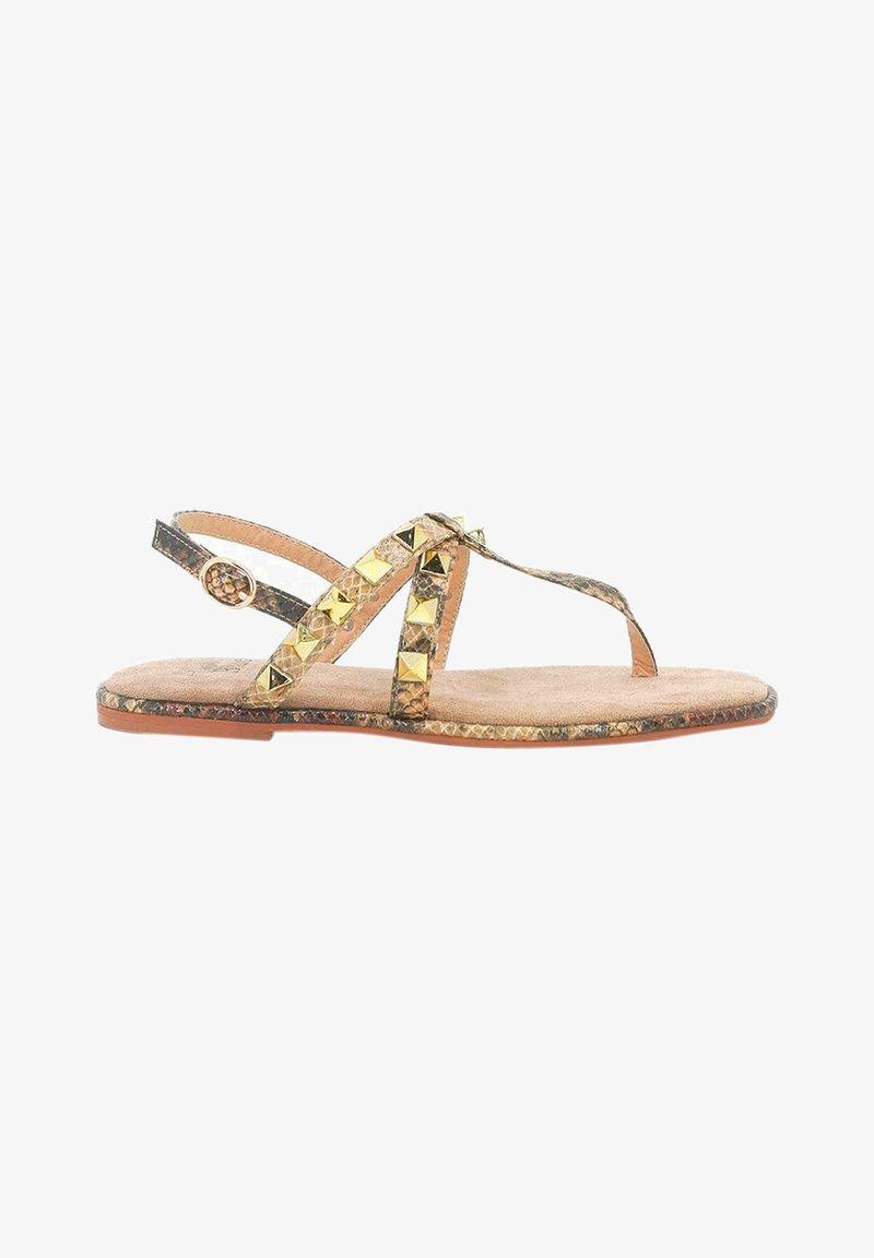 Alma en Pena - T-bar sandals - sand