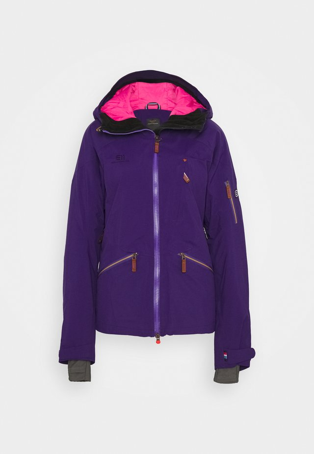 WOMEN'S ZERMATT JACKET - Skijakker - purple