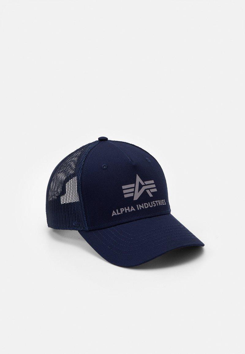 Alpha Industries - BASIC TRUCKER UNISEX - Cap - blue
