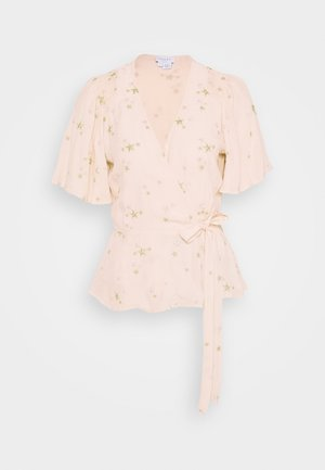 BELLE BLOUSE - Blouse - pink/gold