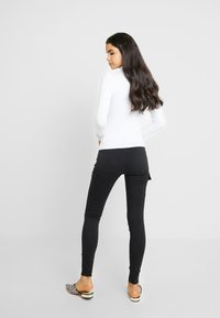Noisy May - NMLUCY UTILITY PANTS - Trousers - black - 3