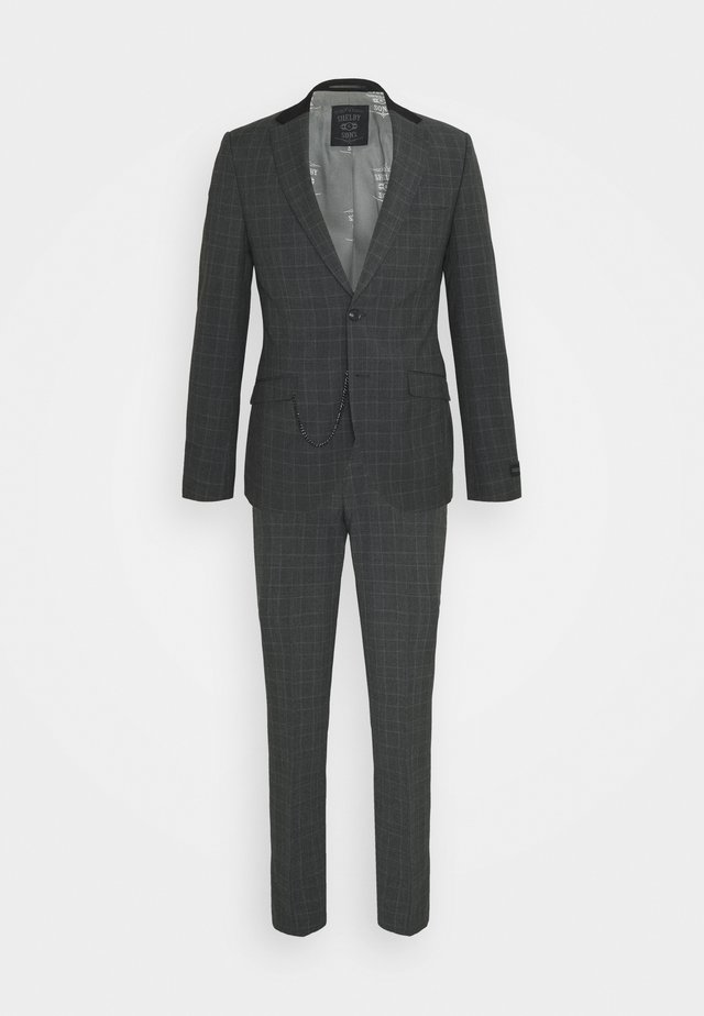 BEAMOUNT SUIT - Puku - charcoal