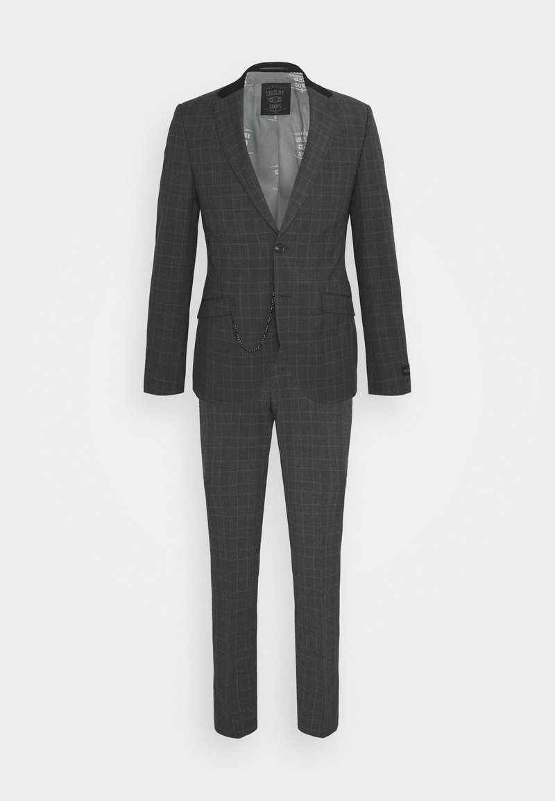 Shelby & Sons - BEAMOUNT SUIT - Kostym - charcoal