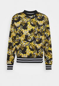 Versace Jeans Couture - PRINT NEW LOGO - Mikina - nero - 4