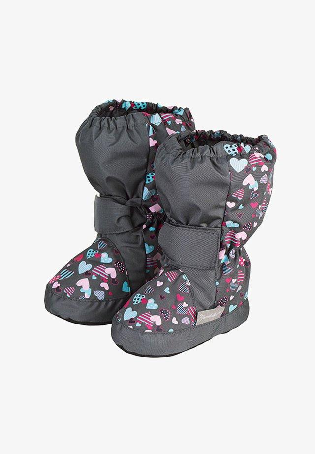 Winter boots - eisengrau