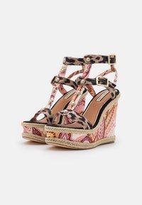 River Island - Platform sandals - pink/medium - 2