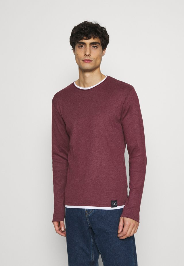SARASOTA ROUND - Maglione - bordeaux red