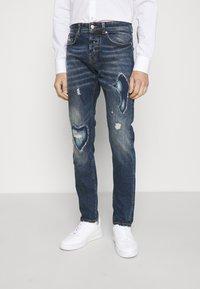 John Richmond - IDYLL - Straight leg jeans - denim blue medium - 0
