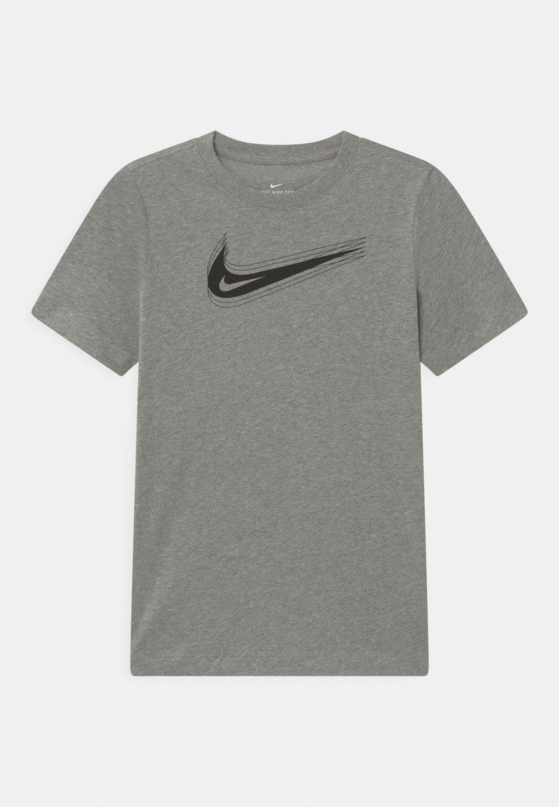 Nike Sportswear - UNISEX - Triko spotiskem - dark grey heather