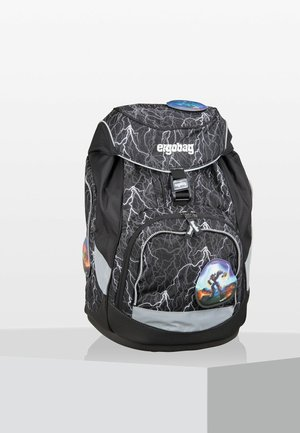 REFLEX GLOW - School bag - black