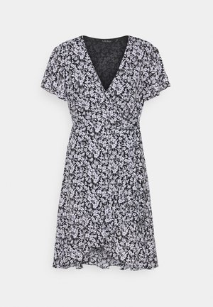 TORLYNN CASUAL DRESS - Day dress - polo black/white