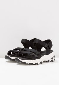 Skechers Sport - D'LITES - Walking sandals - black - 4